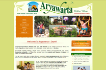 Template Design Aryawarta